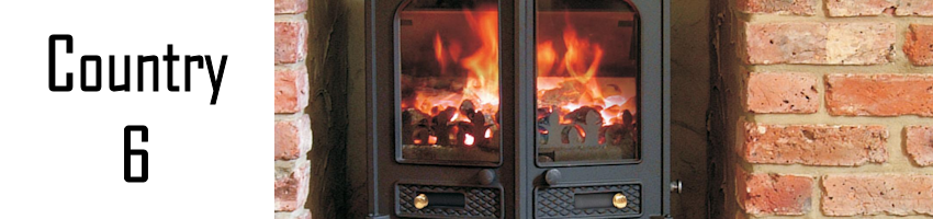 Charnwood Country 6 Stove spares - Stove Spares Ltd