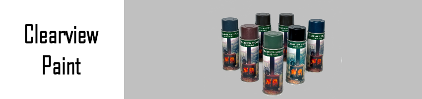 Clearview Stove Paint - Stove Spares Ltd