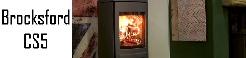 Clock Brocksford CS5 stove spares - Stove Spares Ltd