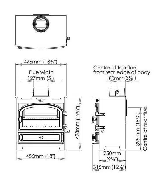 Hunter Kestrel 5 spares - Stove Spares Ltd