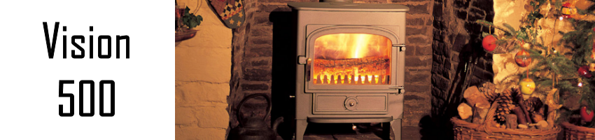 Clearview Vision 500 stove spares - Stove Spares Ltd